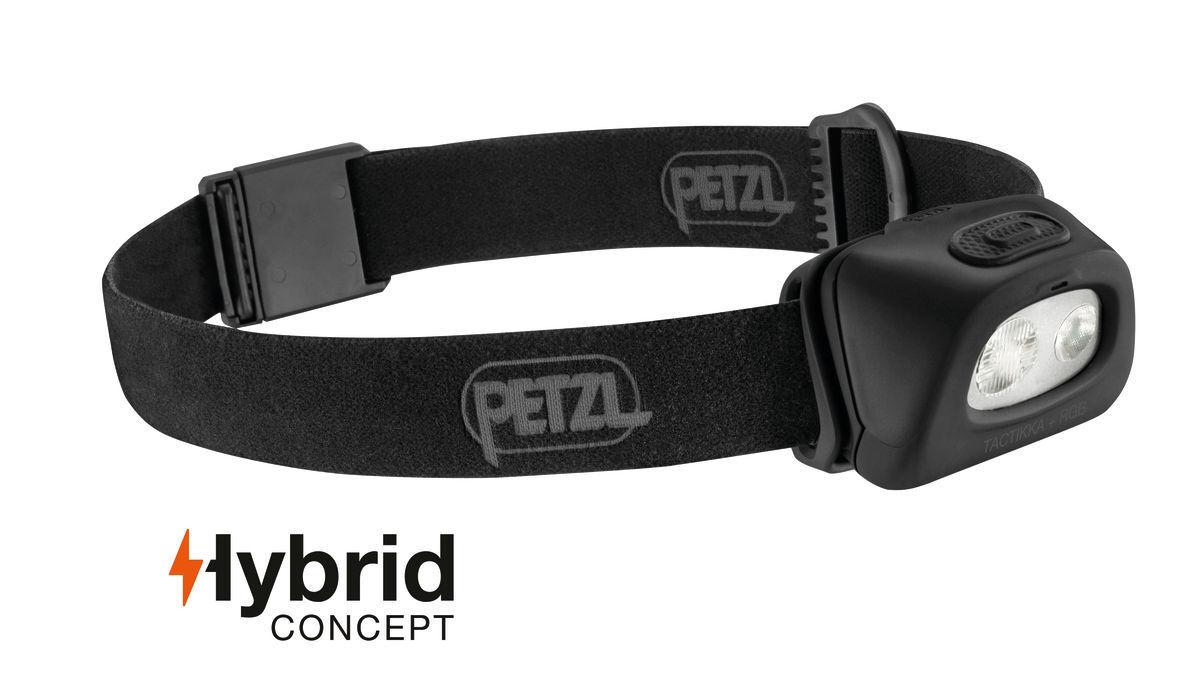 Petzl Tactikka RGB (weiß rot grün blau Licht) Stirnlampe Modell 2018 250 Lumen  | Exzellente Verarbeitung