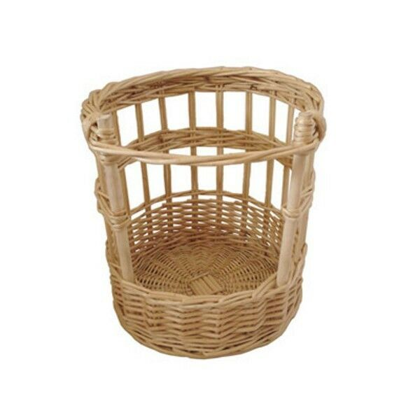 French Stick Bread Basket 30x30 cm Wicker Natural Baguette Food Serving Display
