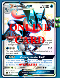 Shiny-Greninja-GX-Hidden-Fates-Pokemon-TCG-Online-PTCGO-ONLINE-CARD-SENT-FAST