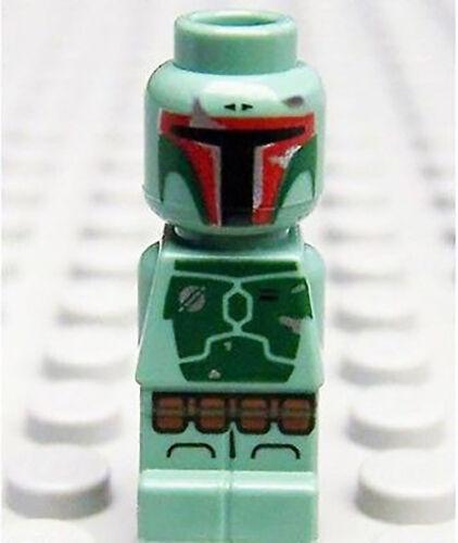 Lego Boba Fett Microfig Star Wars Minifig Battle Of Hoth 3866 bounty hunter NEW