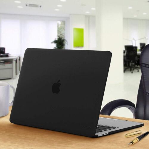 Black Ultra-Slim Rubberized Case+Clear KB+HD LCD 2018 NEW Macbook A1989 A1990-US