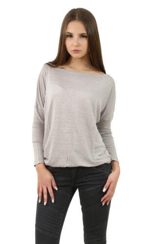 Shirt Woman beige +NEU+ Blaumax SANTIAGO LINEN Ash 9070