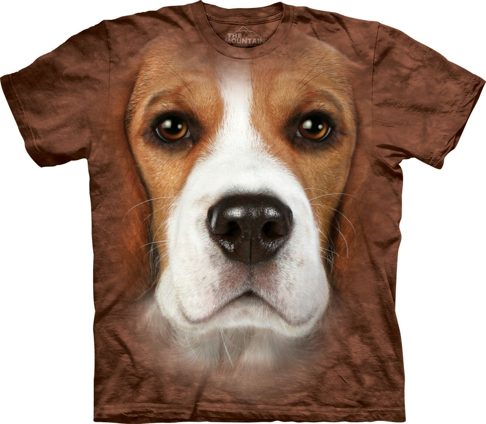 Beagle Face Dogs T Shirt Adult Unisex The Mountain