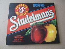 AURORA Dayton Washington Apple LABELS Wholesale Lot of 50 Old Vintage