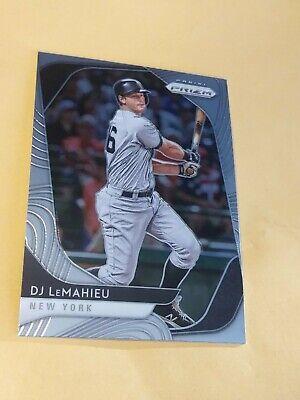 2020 Panini Prizm #83 DJ LeMahieu New York Yankees Baseball Trading Card