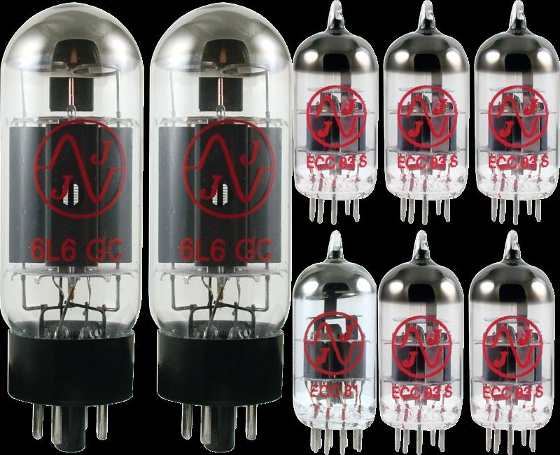 Tube Set - for Fender Machete Combo & Head JJ Electronics APEX Matched