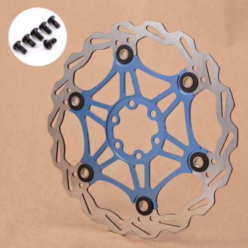 Stainless Steel Bicycle MTB Road Bike Mechanical Disc Brake Rotors 160mm 180mm