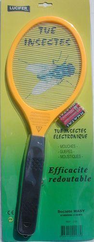 MASY RAQUETTE ELECTR.TUE MOUCHE//INSECTES