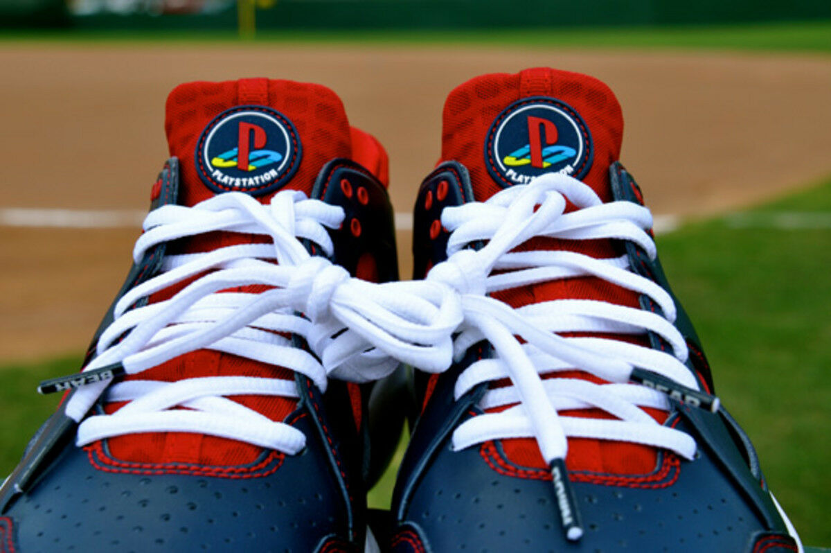 1 300 paia fatto nike huarache joe mauer sony playstation minnesota twins sz9