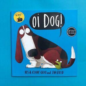 Oi-Dog-Key-Gray-amp-Jim-Field-Signed-by-Jim-Field