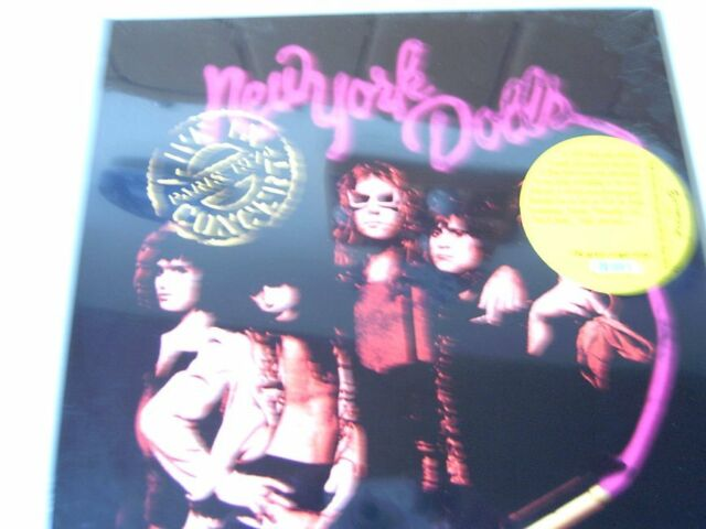 Live In Concert Paris 1974- New York Dolls -LP 180g  NEW-OVP 2003