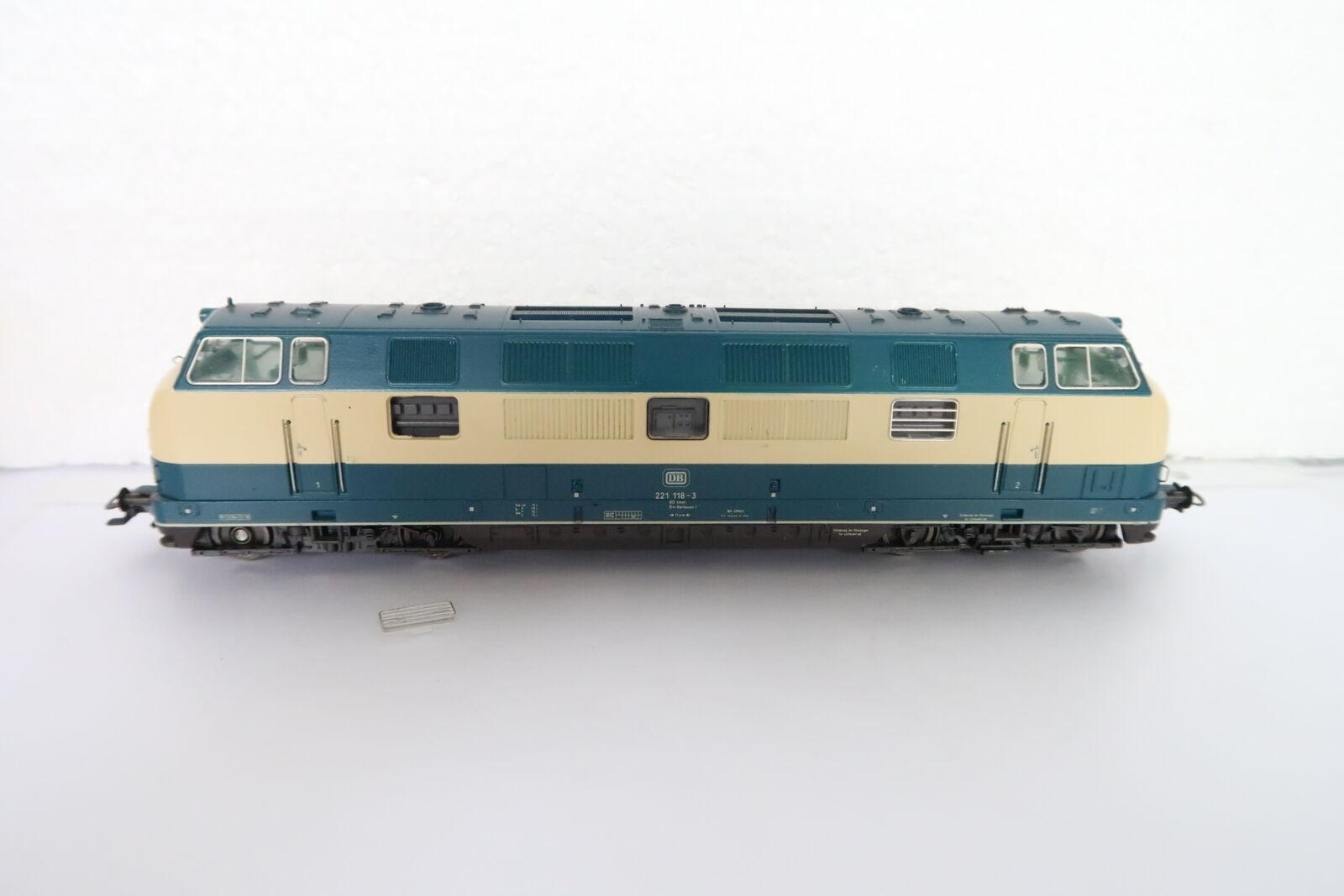 Marklin ho ac 3581 diesel Lok br 221 118-3 DB (db 07-68r7 9)