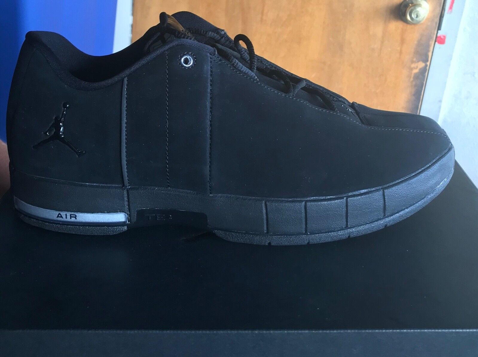 6c37563b36b1 Jordan Men s Men s Men s TE 2 Low Black Black Black Basketball Sneaker  bfd409
