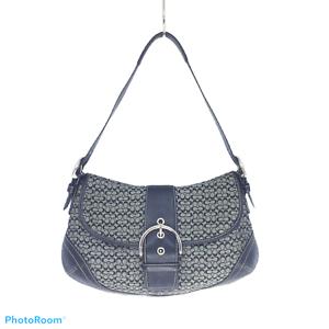 COACH-Shoulder-Bag-Flap-Monogram-Textile-and-Leather-7-X-12