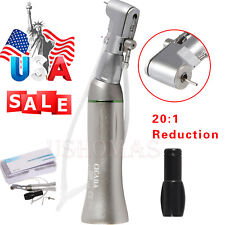 New Listing201 Dental Reduction Implant Contra Angle Latch Handpiece Fit Nsk E Type Motor