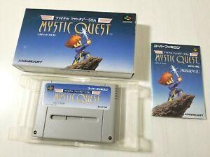 Nintendo Super Famicom Final Fantasy USA Mystic Quest Japan 0313A22