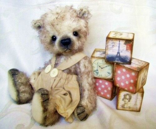 Mohair Bear Sewing Pattern 8.5 inch