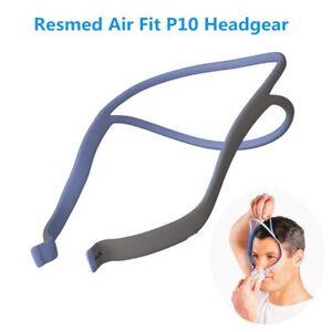 Airfit-P10-Nasal-Pillow-Replacement-Headgear-Head-Cushion-Gear-Resmed-Blue-Gray