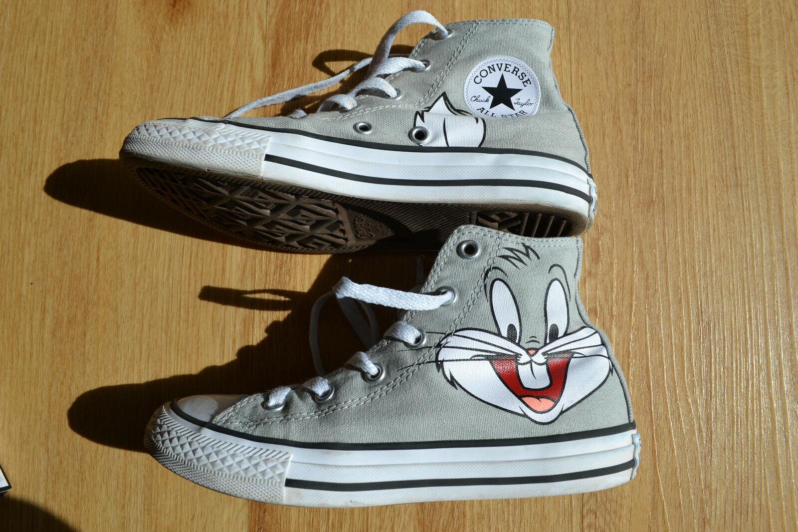 Converse Chucks High Looney Tunes - Bugs Bunny - Gr. 33 EUR Schuhe mit Karton