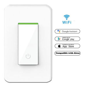 03d513e9753c Details about Smart WIFI Light Switch Works with Alexa Google Home IFTTT  Tuya & Smart life App