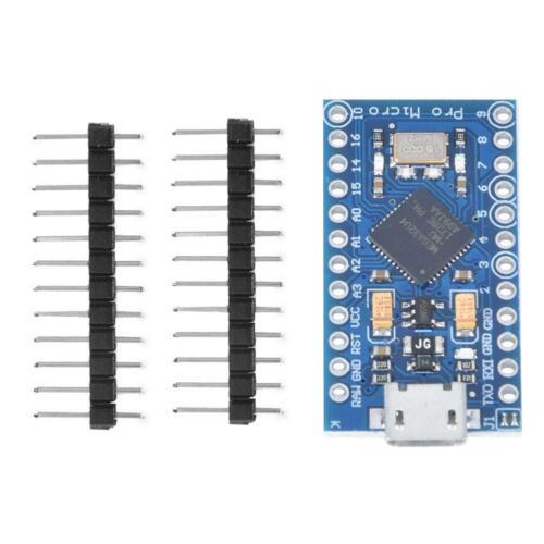 New Pro Micro ATmega32U4 5V 16MHz Replace Arduino Development Board Module