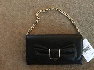 0b930a2f0b8 Kate Spade Purse / Evening Bag Milou LARGE BOW - GENUINE Leather ...
