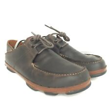 e6cf51f614 item 4 Olukai Men s  Ohana Lace Up Nubuck Shoes Dark Wood Toffee Brown Size  10M Eu 43 -Olukai Men s  Ohana Lace Up Nubuck Shoes Dark Wood Toffee Brown  Size ...