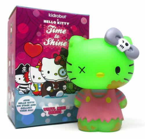 """Kidrobot HELLO KITTY TIME TO SHINE Mini Series ZOMBIE 3/"""" Vinyl Figure"""