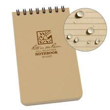 Rite In The Rain 935t Tan Tactical Pocket Notebook 3 Inch By 5 Inch 3 Pack