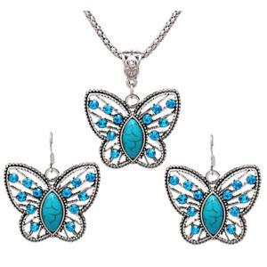 Juego-de-joyas-Juego-de-collar-de-pendiente-de-mariposa-de-cristal-aretes-d-I8W2