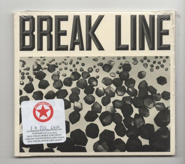 (JM843) Anand Wilder & Maxwell Kardon, Break Line - 2014 Sealed CD