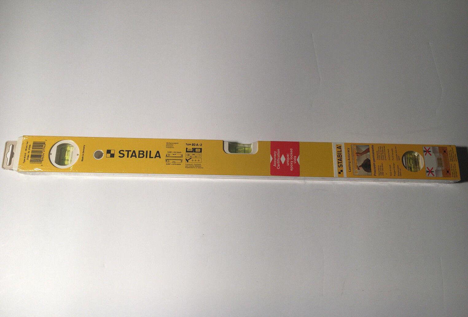 Stabila 80 A-2 Level Aluminum 24