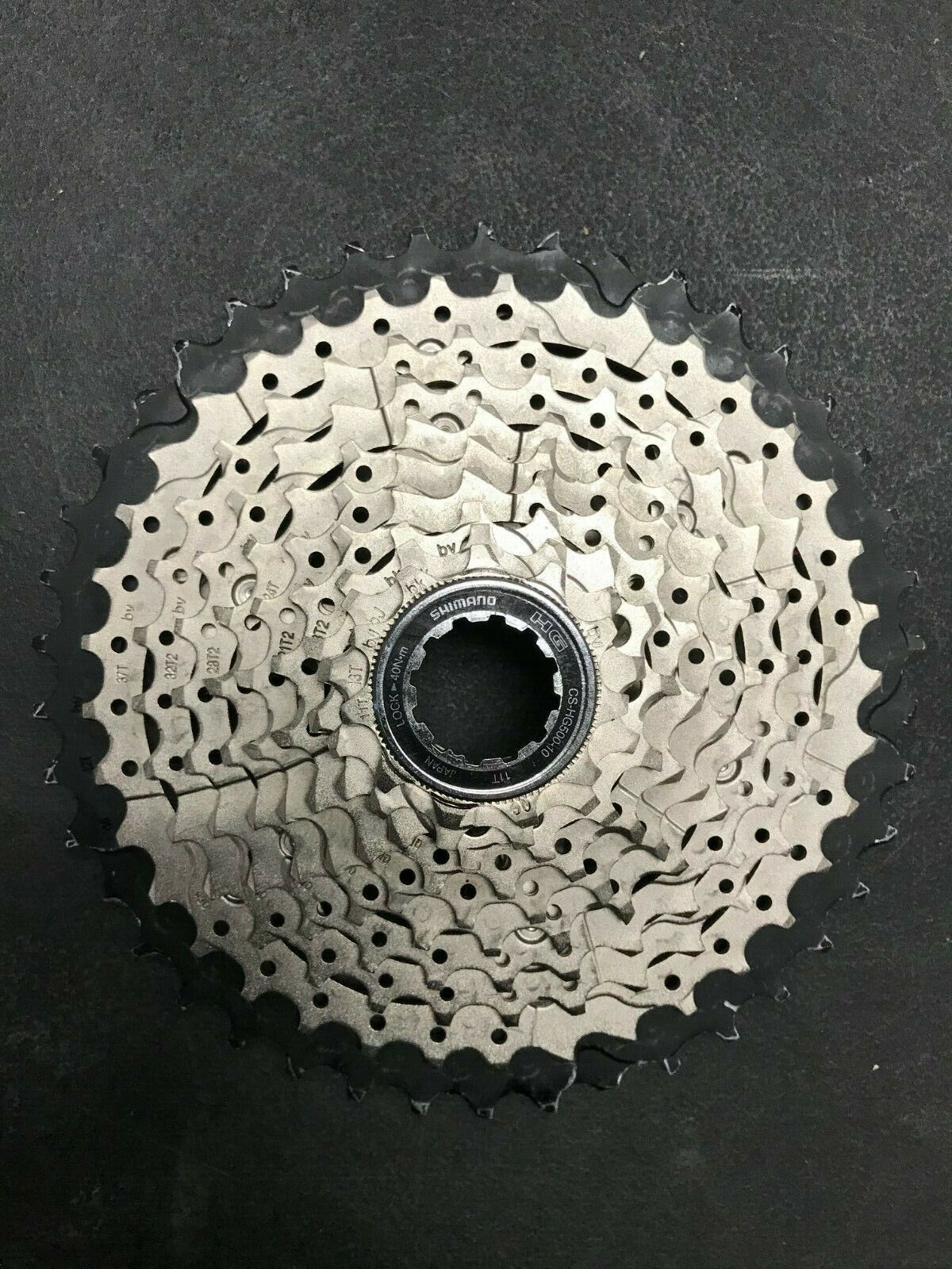 Shimano CS-HG500 10-Speed 11-42t Cassette - Lightly Used