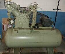 Gardner Denver Adr 1014 Compressor 10 Hp With Tank