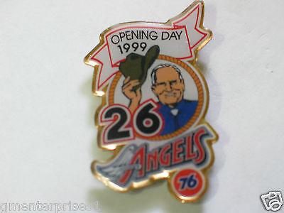 Weitere Ballsportarten Gene Autry Verein Owner Reversnadel Hell In Farbe California Angels Baseball Pin-flagge