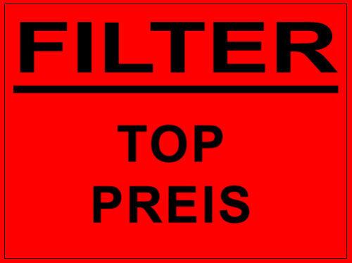 NUR BENZINER TOYOTA AVENSIS T25 LUFTFILTER