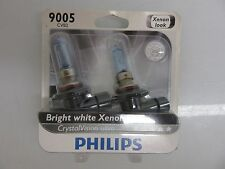 PHILIPS BRIGHT WHITE XENON 9005 CVB2 BULBS