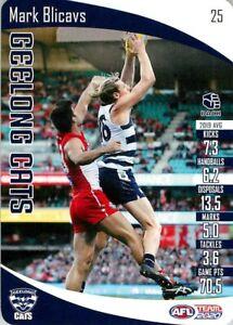 New-2020-GEELONG-CATS-AFL-Card-MARK-BLICAVS-Teamcoach