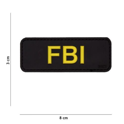 FBI nero #17043 PATCH DISTINTIVO Velcro Airsoft Paintball Softair