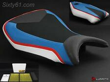 BMW S1000RR Seat Covers 2015 2016 2017 with Gel Blue Red Black Technik Luimoto