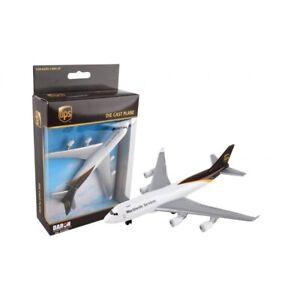 Boeing b747 ups playset daron toys rt4344 airplane toy