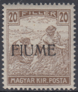 ITALY-Fiume-Sassone-n-10-MNH