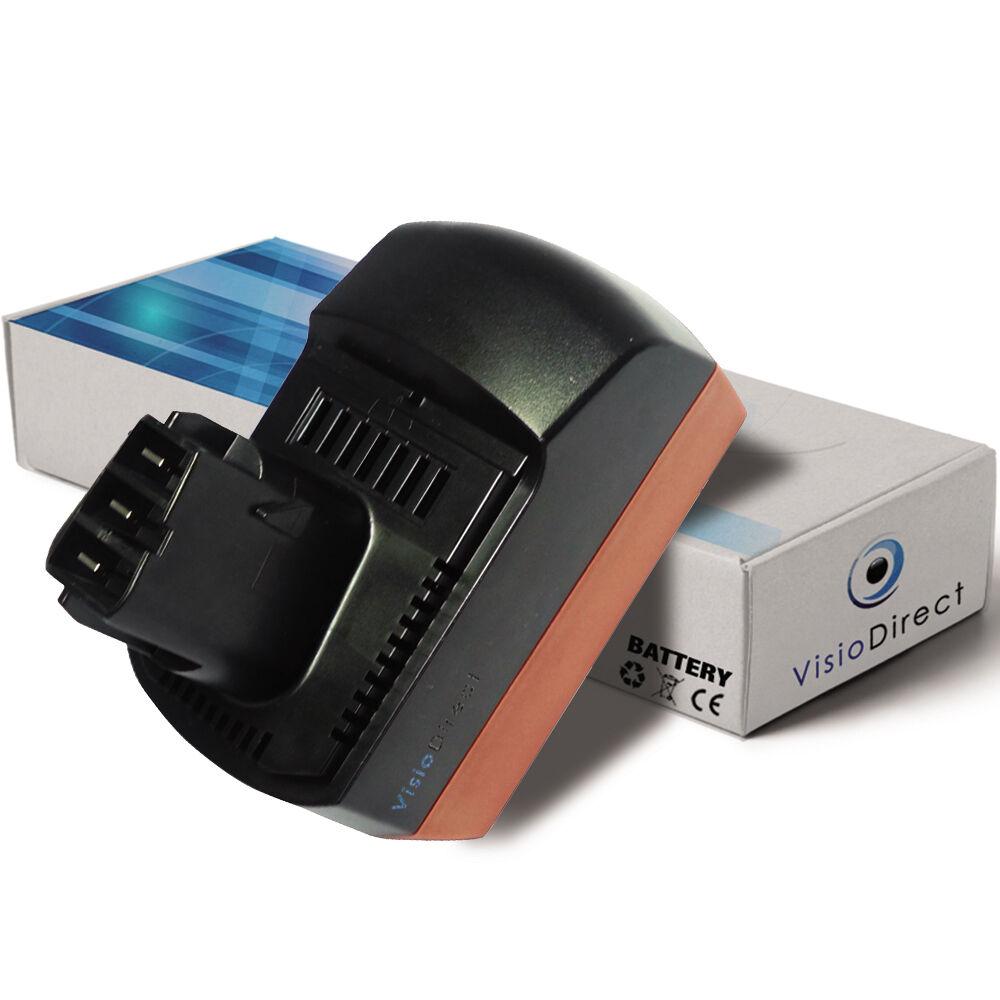 Batterie 18V 3000mAh pour Metabo BSP18 - Société Française -