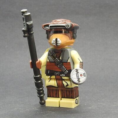 Custom Star Wars minifigures Boushh on lego brand bricks