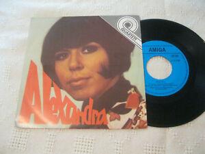 7-034-Single-Alexandra-Zigeunerjunge-Akkordeon-Vinyl-Amiga-Quartett-DDR-5-56-036