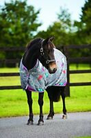 Horseware Amigo PONY JERSEY COOLER Wicking Sweat Rug Stable/Travel/Show 3'9-5'9