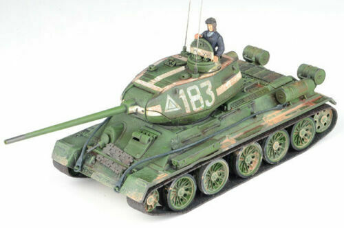 FORCES OF VALOR 1 32 T-34 85 TANK W FIGURES WWII SOVIET FV-801013B   183 BERLIN