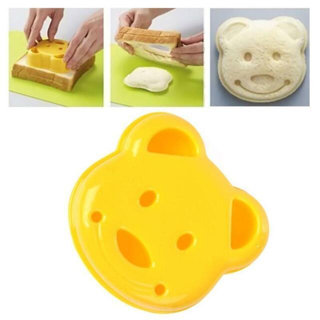Bear Shape Sandwich Toast Bread Food Maker Kitchen Cookie Cutter Mold DIY