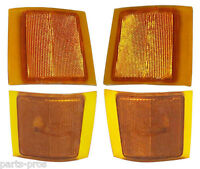 4-piece Corner Light Set / For 1994-99 Chevrolet Truck Suburban & Tahoe