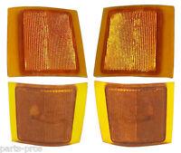 4-piece Corner Light Set / For 1994-99 Chevrolet Truck Suburban & Tahoe